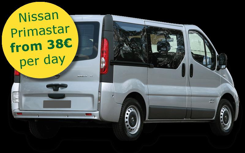 location low cost minibus